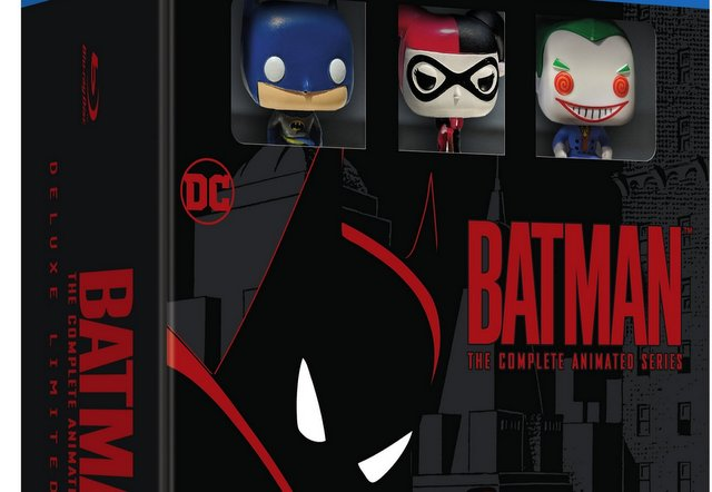 batman the complete animated series deluxe set - blu ray cover