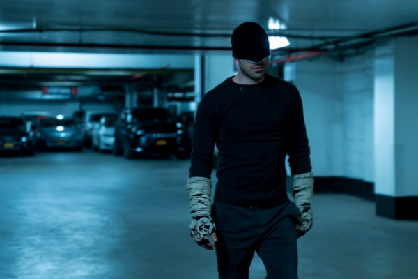 daredevil a new napkin - daredevil in the garage