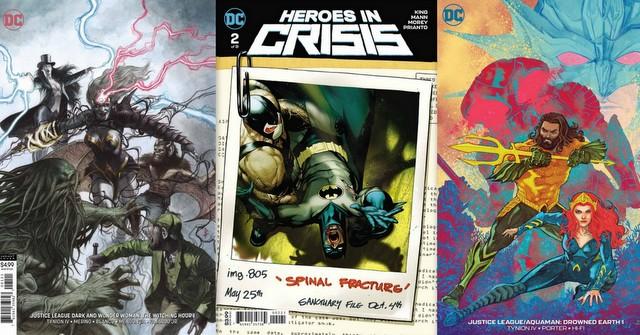 dc comics reviews 10/31/18