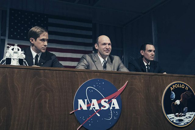 first man review - ryan gosling, corey stoll and lukas haas