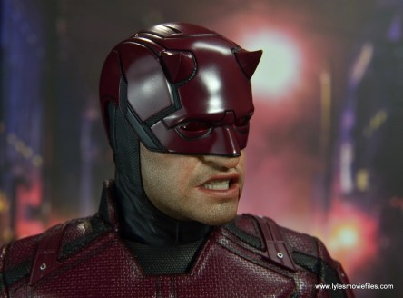 hot toys daredevil figure review - bloody face right side
