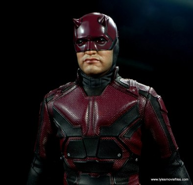 hot toys daredevil figure review - chest armor detail