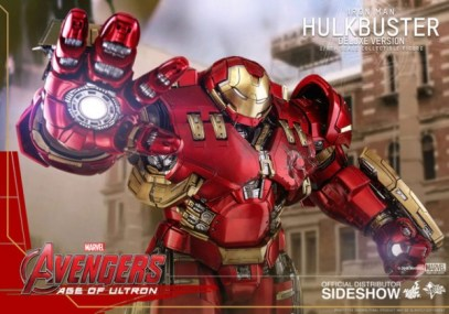 hot toys hulkbuster iron man deluxe version figure - aiming repulsor