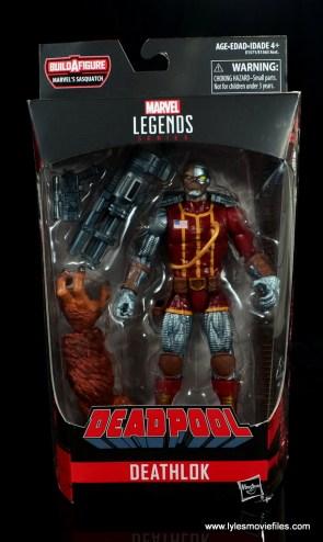 marvel legends deathlok figure review - package front