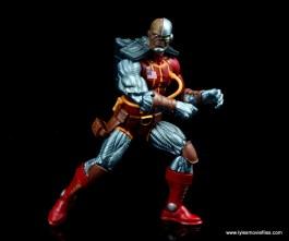 marvel legends deathlok figure review - pivoting