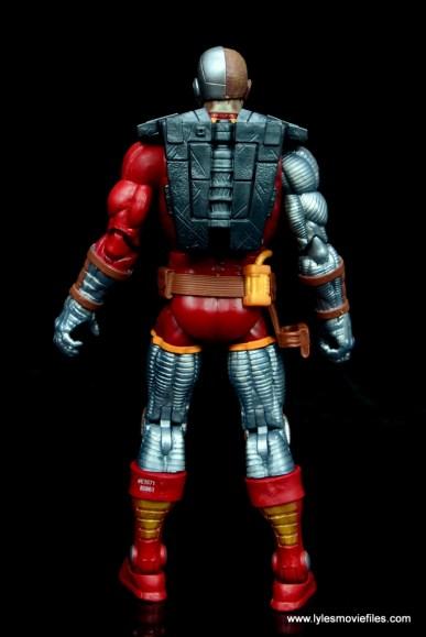 marvel legends deathlok figure review - rear