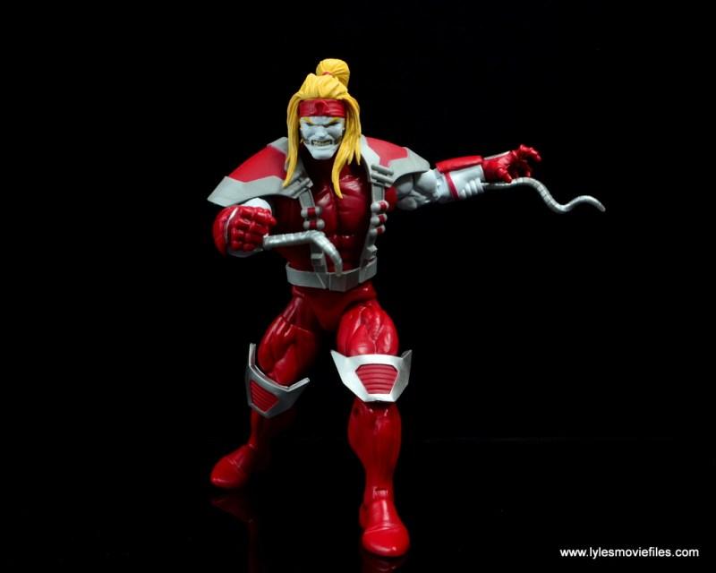 marvel legends omega red figure review - charging