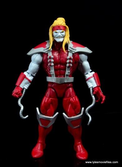 marvel legends omega red figure review - front