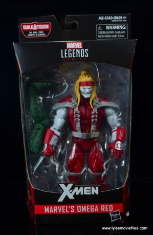 marvel legends omega red figure review - package front