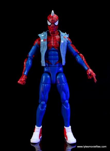 marvel legends spider-punk figure review - front