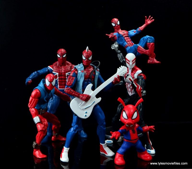 marvel legends spider-punk figure review - spider-verse team up