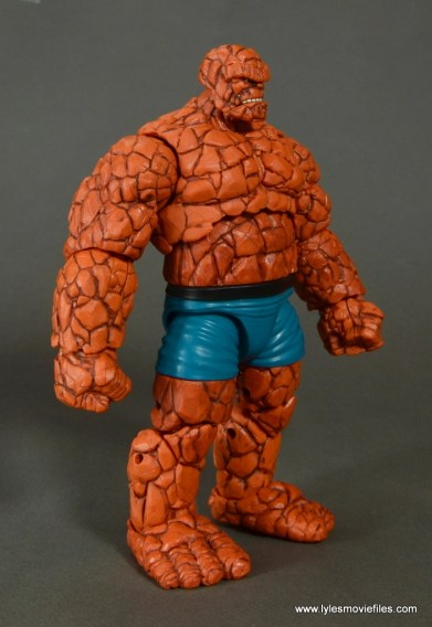 marvel legends the thing figure review - right side