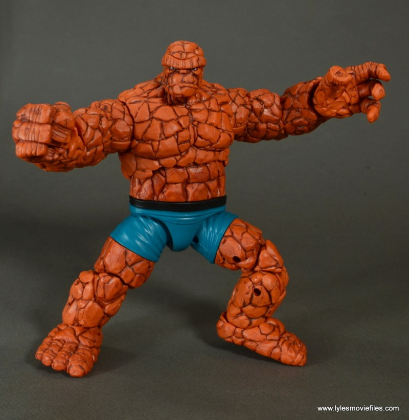 marvel legends the thing figure review - wide