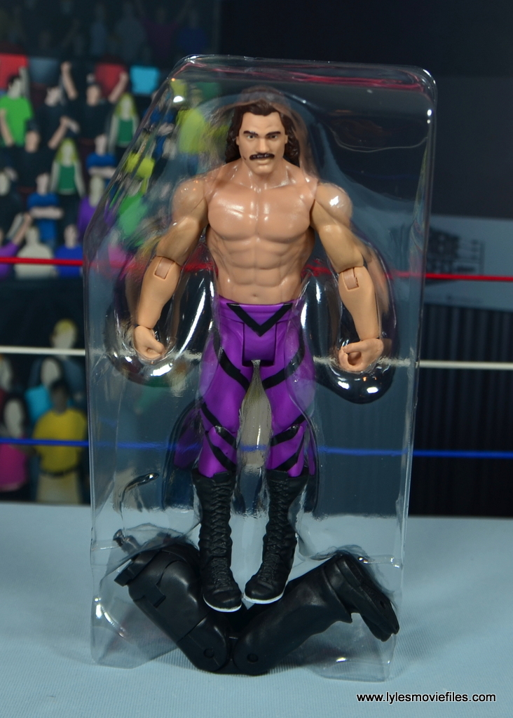WWE Flashback Basic Rick Rude figure review - accessories