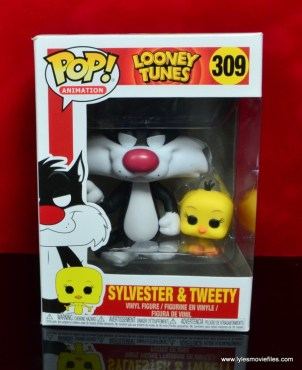 funko pop sylvester and tweety figure review - package front