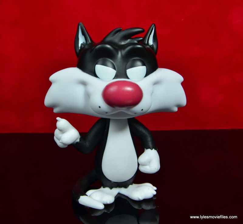 funko pop sylvester and tweety figure review -sylvester front