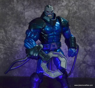 marvel legends archangel figure review - apocalypse with claw hand