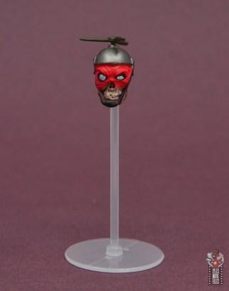 marvel legends lady deadpool figure review - headpool on stand