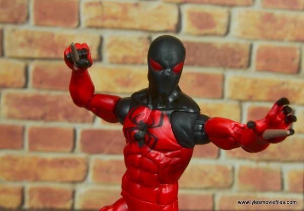 marvel legends scarlet spider figure review - main pic