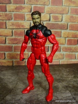 marvel legends scarlet spider figure review - unmasked