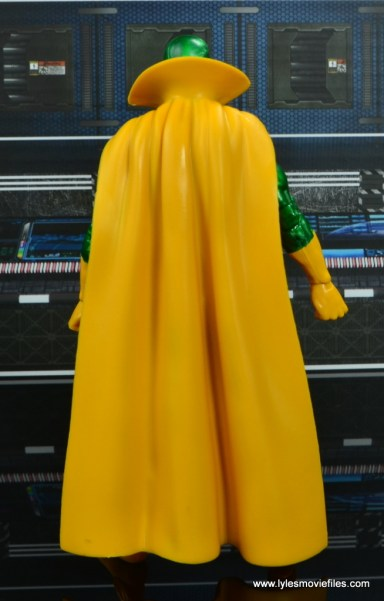 marvel legends vision figure review - rear