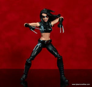 marvel legends x-23 figure review -about to pounce