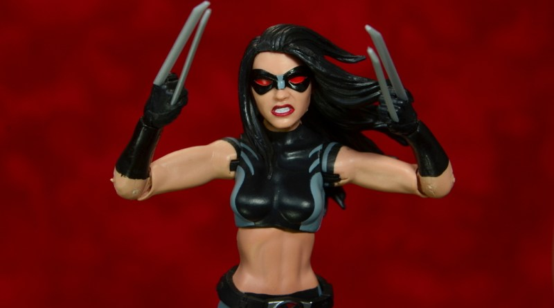 marvel legends x-23 figure review -main pic