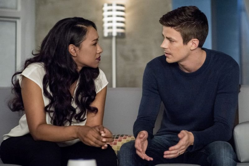 the flash all doll'd up review - iris and barry