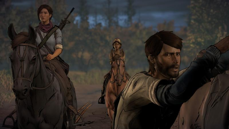 the walking dead a new frontier review - eleanor, clem and javi