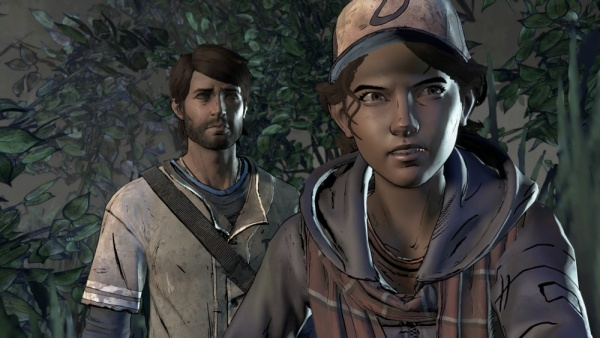 the walking dead a new frontier review - javi and clem