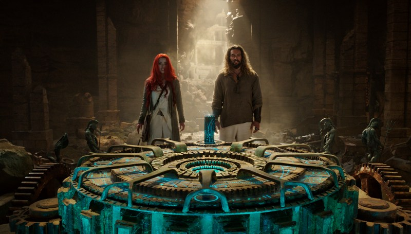 aquaman movie review - mera and aquaman