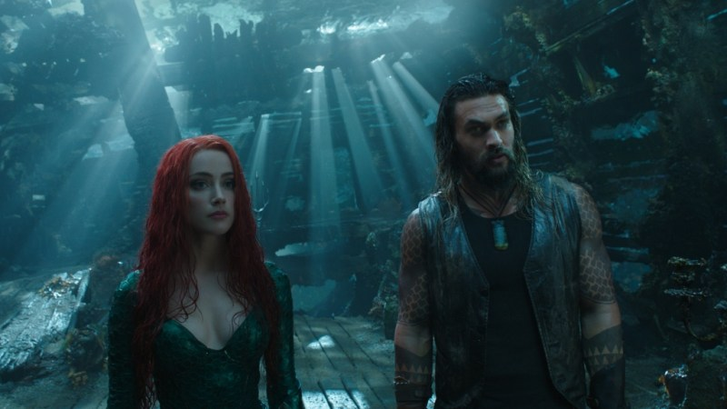 aquaman movie review - mera with aquaman