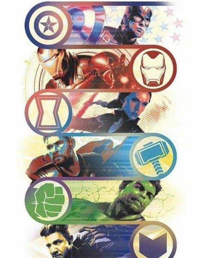 avengers endgame promo art - main avengers