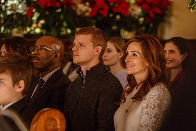 ben is back review - courtney b. vance, lucas hedges and julia roberts