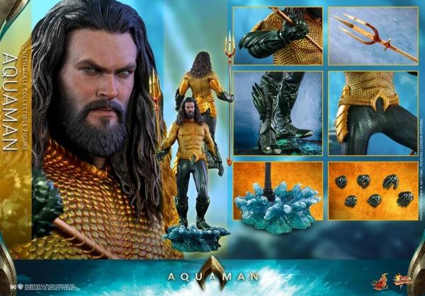 hot toys aquaman figure - collage