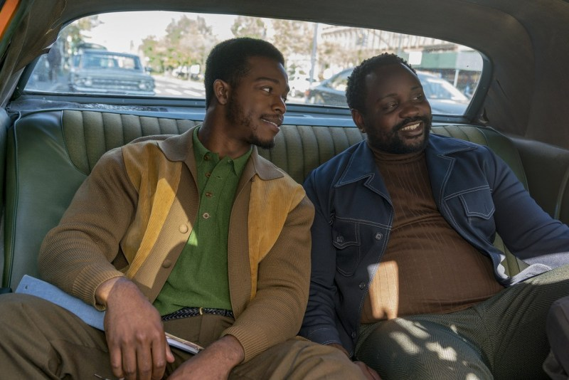 if beale street could talk movie review - stephan james and brian tyree henry