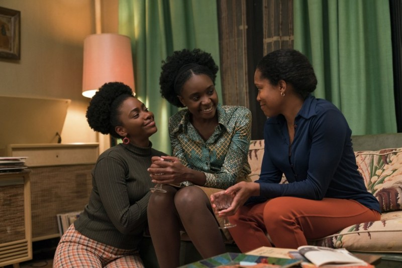 if beale street could talk movie review - teyonah parris, kiki layne, regina king