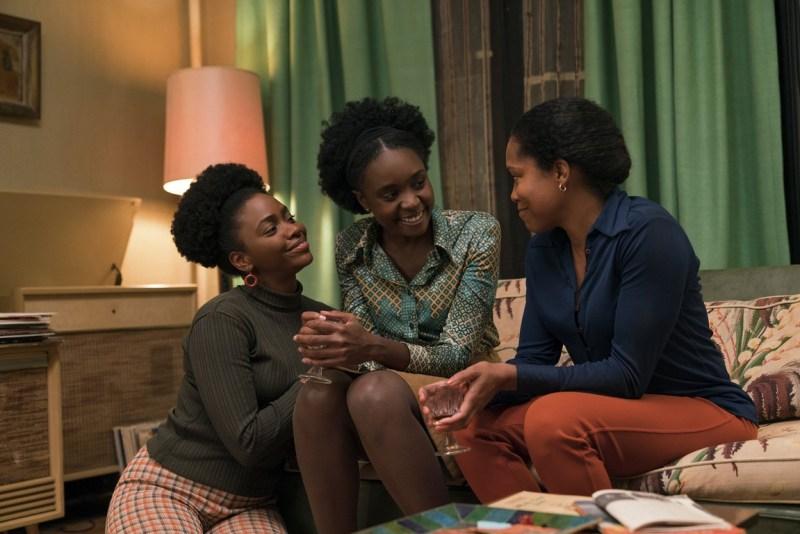 if beale street could talk movie review - teyonah parris, kiki layne, regina king