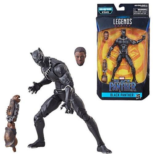 new marvel legends black panther figures - civil war black panther