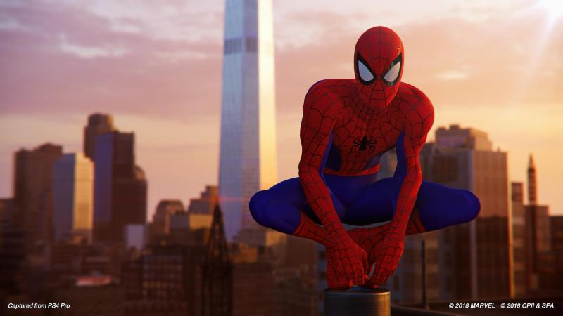 spider-man silver lining dlc - into the spider-verse suit