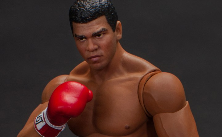storm collectibles muhammad ali figure -detail