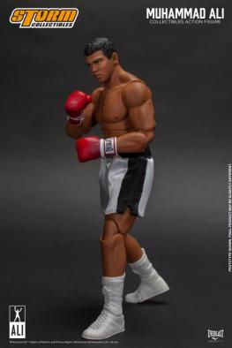 storm collectibles muhammad ali figure -footwork