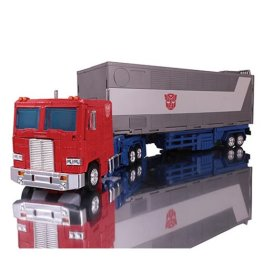 transformers masterpiece edition MP-44 Optimus Prime figure -transformed