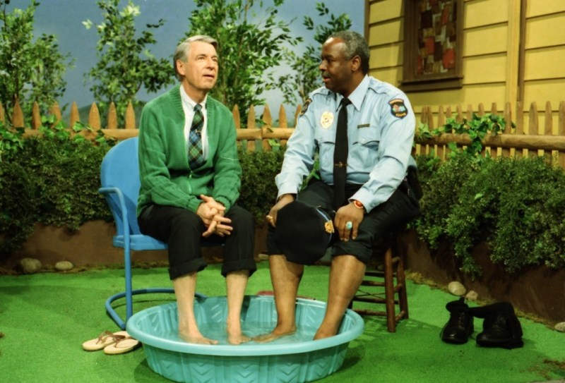 won't you be my neighbor movie review - fred rogers and francois clemmons
