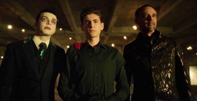 gotham no man's land review -jeremiah, bruce and ra's al ghul