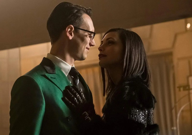 gotham to our deaths and beyond - Morena Baccarin, Cory Michael Smith