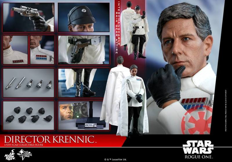 hot toys director krennic figure - collage