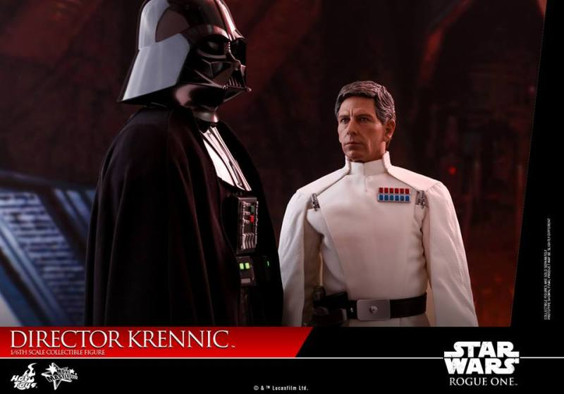hot toys director krennic figure - with darth vader