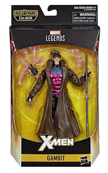 marvel legends x-men build-a-caliban packaging gambit