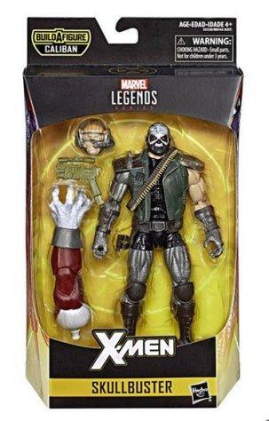 marvel legends x-men build-a-caliban packaging skullbuster
